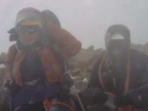 Reidster at the summit of Mt. Rainier (the guy on the right)