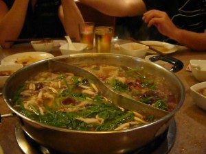 The Good: Hot Pot!