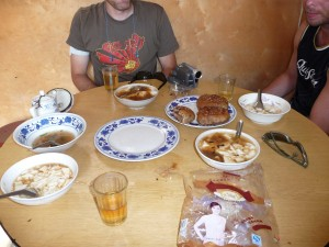 Yikes...An other delicious breakfast in China!