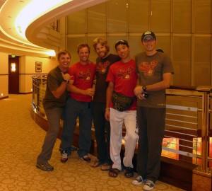 Team Man Zou in Shanghai...Time to celebrate!